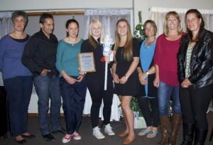 Team of the Year - Maungaturoto E Grade Ladies Superchamps Team