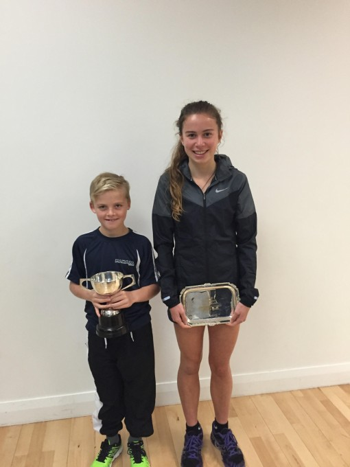 South Island Age Group Champs - Zoe Dykzeul and Freddie Jameson